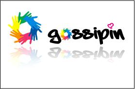 Logo Gossipin by kamaride