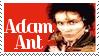 Adam Ant Stamp 4 by dA--bogeyman