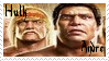 Andre The Giant Stamp 5 by dA--bogeyman