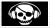 Pirate Flag Stamp 5 by dA--bogeyman