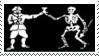Pirate Flag Stamp 1 by dA--bogeyman