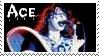 KISS Ace Frehley Stamp by dA--bogeyman