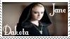 Miss Dakota Fanning Stamp 2 by dA--bogeyman