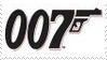 James Bond 007 Stamp 30 by dA--bogeyman