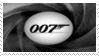 James Bond 007 Stamp 20 by dA--bogeyman