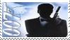 James Bond 007 Stamp 7 by dA--bogeyman