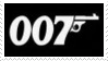 James Bond 007 Stamp 1 by dA--bogeyman