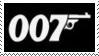 James Bond 007 Stamp 1 by dA--bogeyman