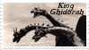 Monsters Stamp 15 : Ghidorah by dA--bogeyman