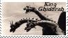 Monsters Stamp 15 : Ghidorah by dA--bogeyman
