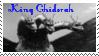Monsters Stamp 14 : Ghidorah by dA--bogeyman