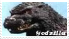 Monsters Stamp 4 : Godzilla by dA--bogeyman
