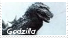 Monsters Stamp 1 : Godzilla by dA--bogeyman