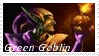 Green Goblin Stamp 8 by dA--bogeyman