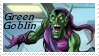 Green Goblin Stamp 2 by dA--bogeyman