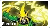 Electro Supervillain Stamp 6 by dA--bogeyman