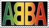 Abba Disco Europop Stamp 7 by dA--bogeyman