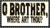 Brother Where Art Thou Stamp 3 by dA--bogeyman