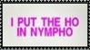 Nympho Stamp 2 by dA--bogeyman