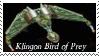Star Trek Klingon Stamp 13 by dA--bogeyman