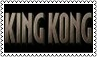 King Kong Movie Stamp by dA--bogeyman