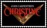 Christine Horror Movie Stamp