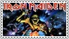 Iron Maiden Metal Stamp 2 by dA--bogeyman