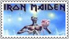 Iron Maiden Metal Stamp 1 by dA--bogeyman