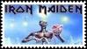 Iron Maiden Metal Stamp 1 by dA--bogeyman