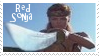 Red Sonja Stamp 2 by dA--bogeyman