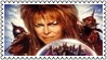 Labyrinth Stamp : David Bowie by dA--bogeyman