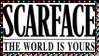 Scarface Movie Stamp 20 by dA--bogeyman