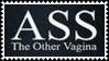 Ass The Other Vagina Stamp by dA--bogeyman