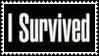 I Survived Stamp