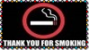Thank You For Smoking Stamp by dA--bogeyman