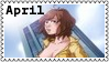 TMNT April O'Neil Stamp 4 by dA--bogeyman