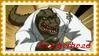 TMNT Leatherhead Stamp by dA--bogeyman