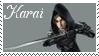 TMNT Karai Stamp 2 by dA--bogeyman