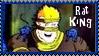 TMNT Rat King Stamp 2 by dA--bogeyman