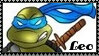 TMNT Leonardo Stamp 2 by dA--bogeyman
