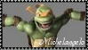 TMNT Michelangelo Stamp 3 by dA--bogeyman