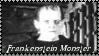 Frankenstein Monster Stamp by dA--bogeyman