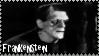 Classic Frankenstein Stamp by dA--bogeyman