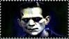 Frankenstein Movie Stamp by dA--bogeyman
