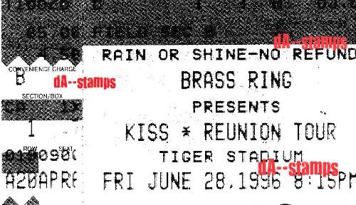 KISS / Alice In Chains Concert 6-28-96 by dA--bogeyman