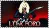 Lita Ford Glam Metal Stamp by dA--bogeyman