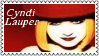Cyndi Lauper New Wave Stamp 2 by dA--bogeyman