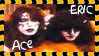 Ace Frehley + Eric Carr Stamp by dA--bogeyman