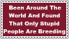 Stupid People Breeding Stamp by dA--bogeyman