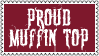 Proud Muffin Top Stamp by dA--bogeyman